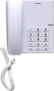 Alcatel ATL1418675 T28 Wired Home Phone, White