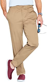 Best mens cotton elasticated waist trousers Reviews
