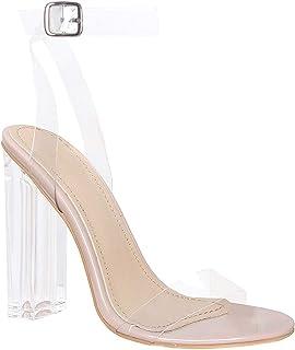 Style Mermaid Women Transparent Heel