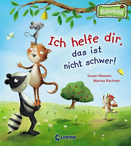 Ich helfe dir, das ist nicht schwer!: Lustiges Pappbilderbuch für Kinder ab 2 Jahre (- garantiert...