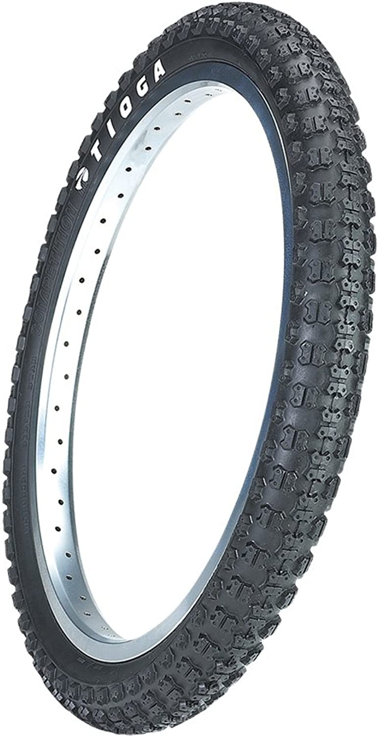 TIOGA Comp III Tire with Wire Side Wall, Black, 20x13 8Inch