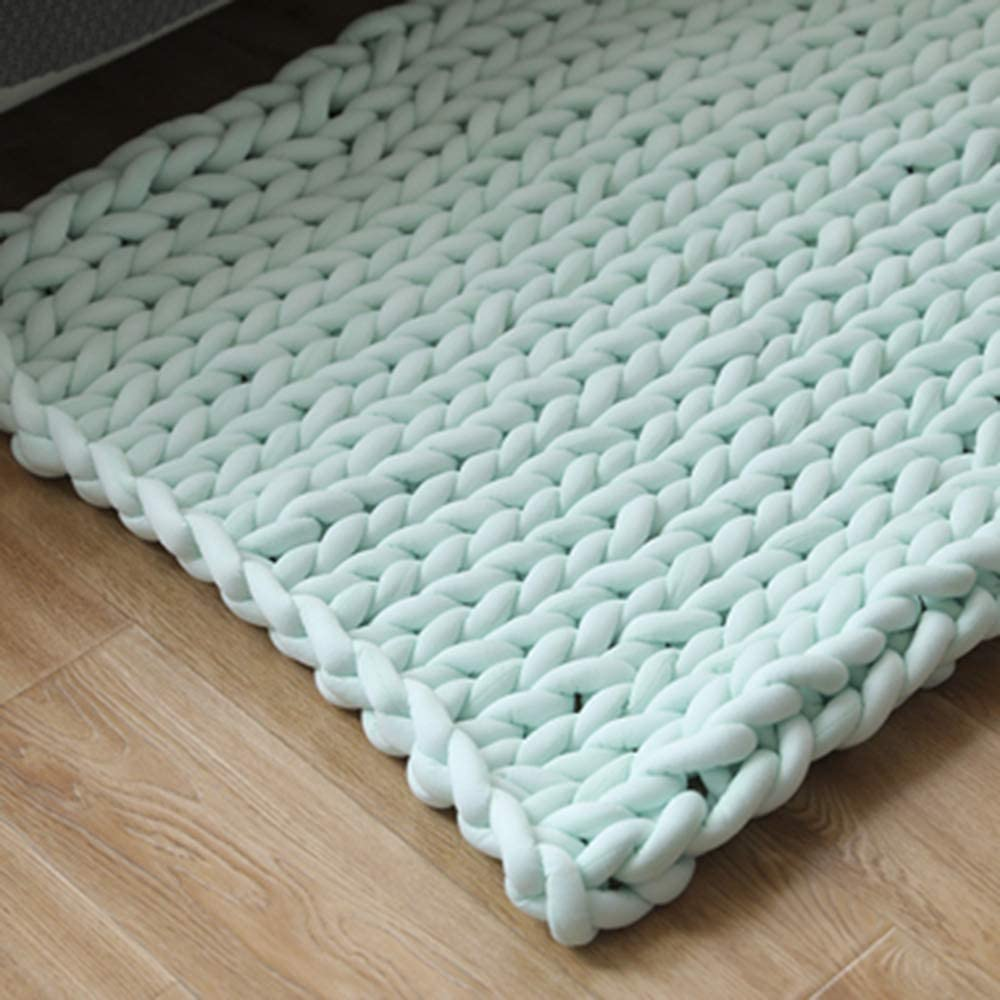 supreme YYMB Chunky Knitted Throw Blanket Hand-Woven Cozy Bulky Ranking TOP13