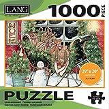 LANG - 1000 Piece Jigsaw Puzzle - Santa s Sleigh