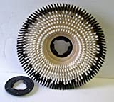 20' Machine Nylon Shampoo Brush w/Plate