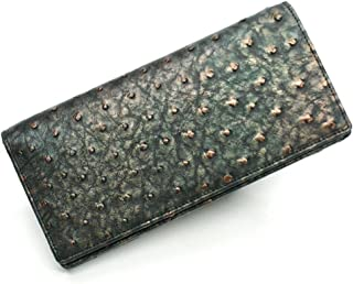 OSTLG-R1075 オーストリッチ長財布[無双仕様]小銭入れ無し:ラグジュアリーレトロ