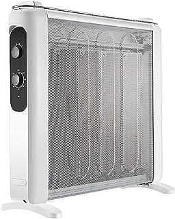 GYF Calefactor eléctrico Interior Calefactor Eléctrico Película Electrica Calentador Casa El Ahorro De Energía Calentamiento Rápido Construido En Caja De Humidificación Protección De Descarga Blanco