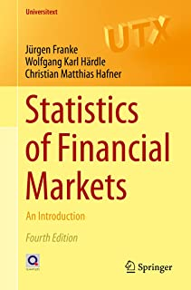 Statistics of Financial Markets: An Introduction (Universitext)