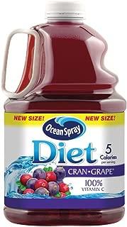 Ocean Spray Diet Juice Drink, Cran-Grape, 3 Liter Bottle (Pack of 6)