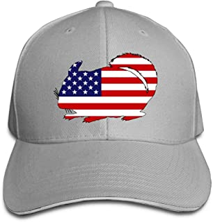 Anotolate Noe Chinchilla American Flag Dad Hat Adjustable Hat Trucker Cap Baseball Cap