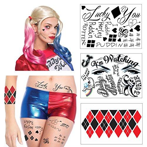 61KjXdjA-NL Harley Quinn Tattoos