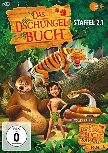 Das Dschungelbuch Staffel 2.1 (Folge 53-70) + Bonus: Dschungelbuch-Safari (Folge 1-8) [2 DVDs]