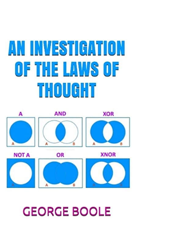 好きごちそうを除くAN INVESTIGATION OF THE LAWS OF THOUGHT
