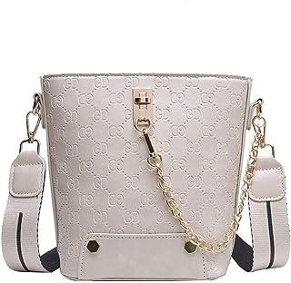 Ladies handbag Women's Shoulder Bags Women's Crossbody BagsRetro wild messenger bag fashion bucket bag