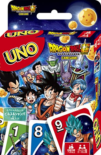 [Amazon.co.jp limited edition] Dragon Ball Super UNO UNO card with stamping