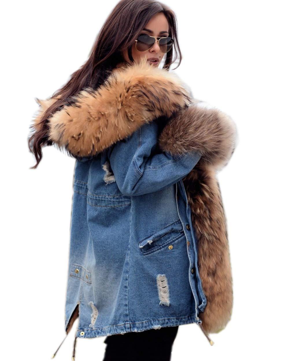 Roiii Winter Outdoor Hooded AmryGreen