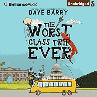 The Worst Class Trip Ever audiobook cover art