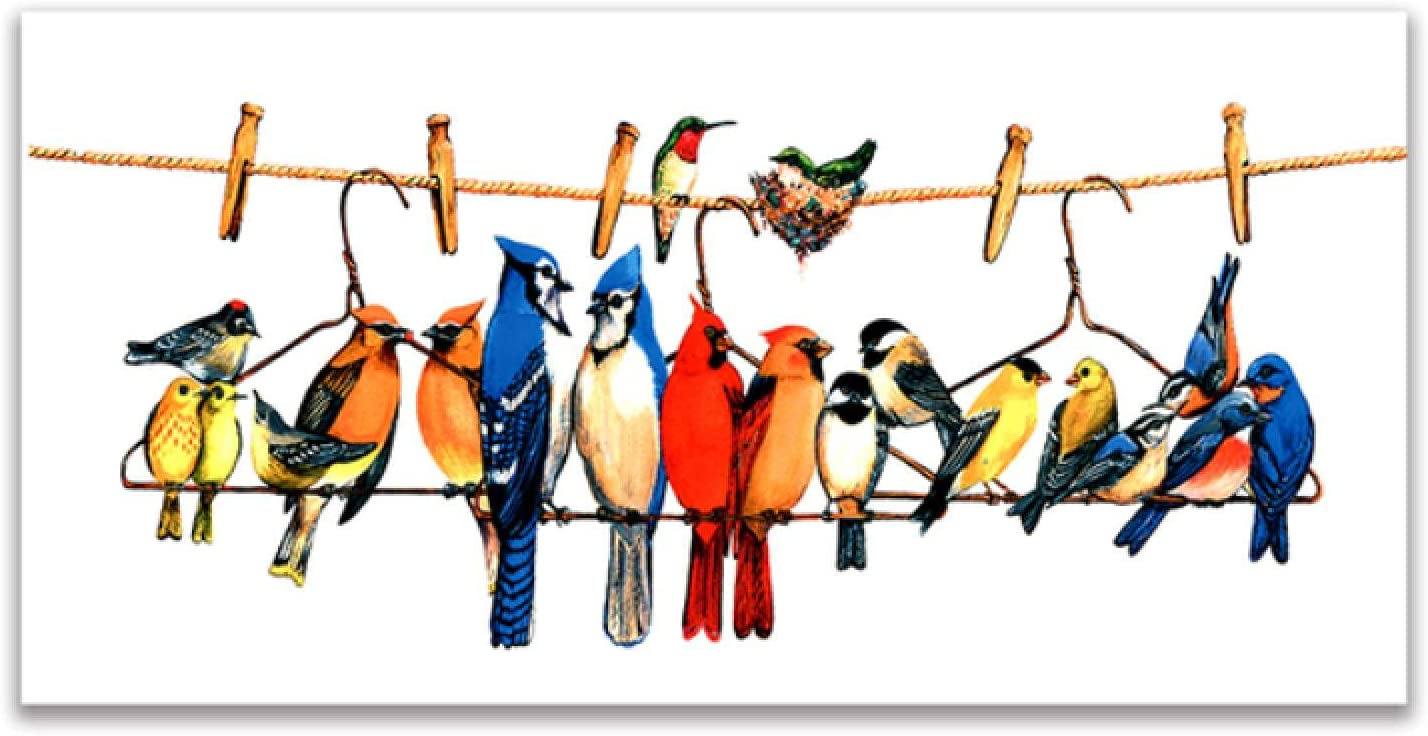 zcyy Print on Canvas Wall Sta El Paso Mall Painting Birds Art Excellence Colorful