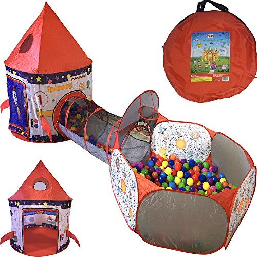 Playz 3pc Rocket Ship Astronaut Kids...