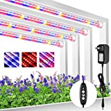 Roleadro LED Grow Light Strip, T5 Plant Lamp 3 Spectrum...