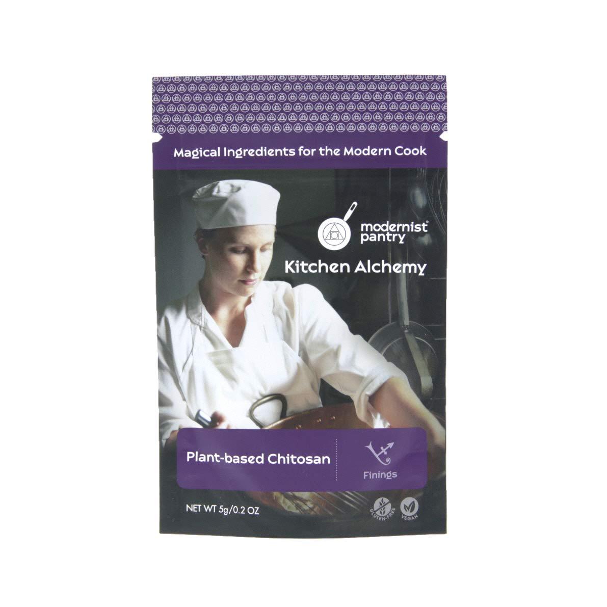Chitosan (Plant-Based) ❤ Gluten-Free ☮ Vegan - 5g/0.2oz