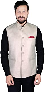 Gadgets Appliances Cotton Silk Nehru Jacket for Men