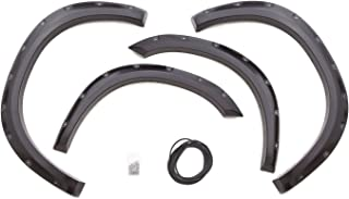 Lund RX205S Elite Series Black Rivet Style Standard Front and Rear Fender Flare - 4 Piece