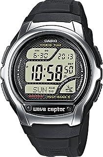 Casio Wave Ceptor Homme Digital Quartz Montre avec Bracelet en Résine WV-58E-1AVEG