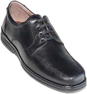 Zapato Cordones Hombre Especial para diabéticos Muy cómodo Primocx en Negro