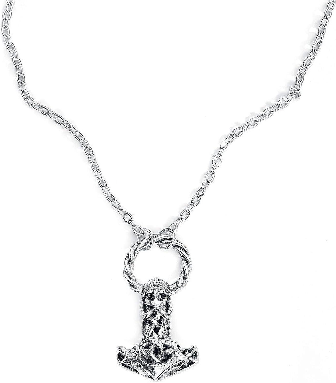Mjollnir Pendant by Alchemy Gothic, England
