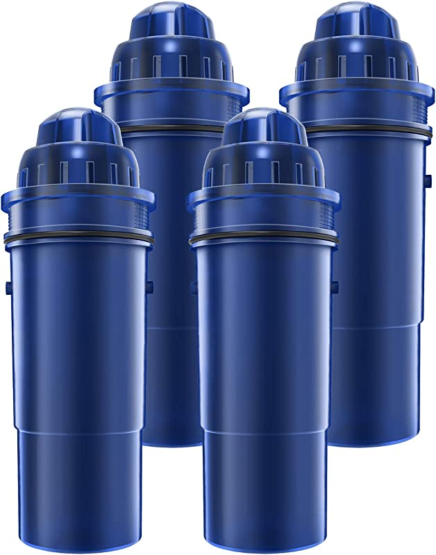 AQUACREST CRF 950Z Pitcher Water Filter Compatible With Pur Pitchers And Dispensers PPT700W CR 1100C DS 1800Z And More Pack Of 4