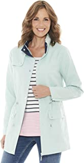 Amber Ladies Womens Microfibre Jacket