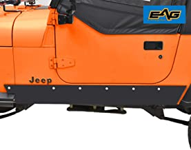 EAG Rock Sliders Rock Rails Guards Off Road Armor Fit for 87-95 Jeep Wrangler YJ