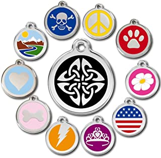 Love Your Pets Deluxe Pet ID Tags - Deep Engraved Stainless Steel - Engraving Will Last – 120 Design Choices of Pet Tags, Dog Tags, Cat Tags Most Ship Next Day