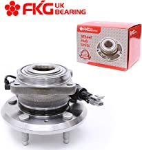 FKG 512358 Rear Wheel Bearing Hub Assembly fit for 12-14 Chevy Captiva Sport, 07-09 Chevy Equinox, 07-09 Pontiac Torrent, 08-09 Saturn Vue, 07-09 Suzuki XL-7 5 Lugs W/ABS