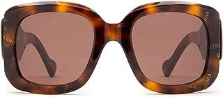 Luxury Fashion   Balenciaga Womens BB0069S002 Brown Sunglasses   Fall Winter 19