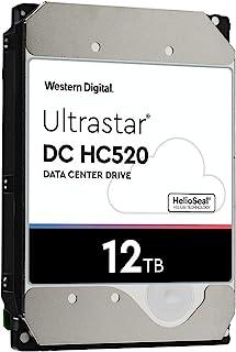 """Western Digital Ultrastar DC SATA HDD - 7200 RPM Class, SATA 6 Gb/s, 3.5"""" 12TB"""