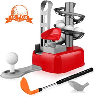 Blasland Kids Golf Toys Set - Golf for Kids, Toddler Golf Set, Outdoor Toys, Boys Yard Sports Toys, Golf Ball Lawn Game, Exercise Birthday Gift Toy for 2 3 4 5 6 7 8 9 - 15 Year Old Boys Girls