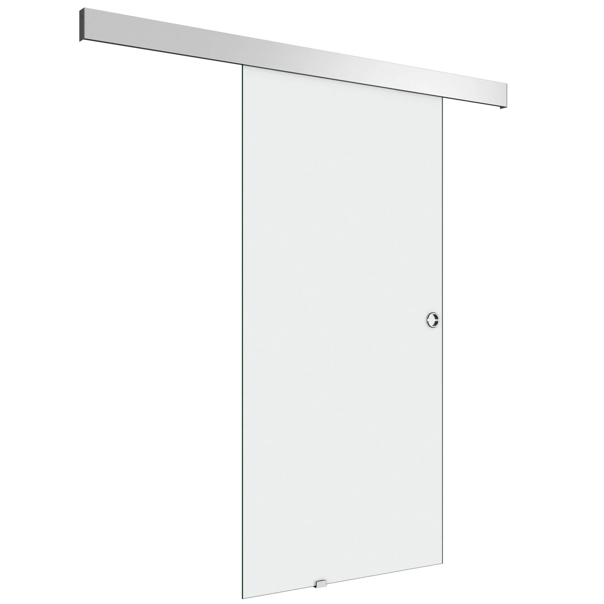 100 x 205 cm Diseño de correderas de cristal de puerta de Amalfi TS12-1000, de vidrio templado de cristal de seguridad satinado: Amazon.es: Bricolaje y herramientas