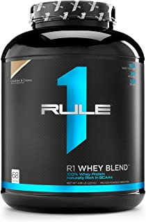 R1 Whey Blend, Rule 1 Proteins (Cookies & Creme, 68 Servings)