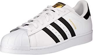 Adidas Superstar White Black Youths Trainers Size 4.5 UK