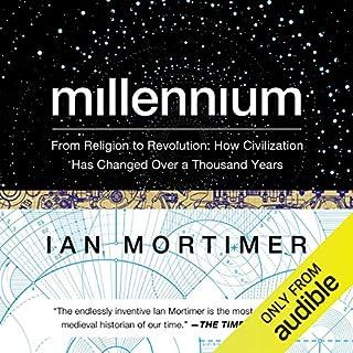 Millennium audiobook cover art