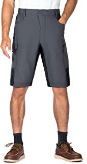 XKTTACMen's-Cargo-ShortsRelaxed-Loose-Fit-Casual-ShortswithMulti-Pockets