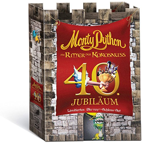 Monty Python - Die Ritter der Kokosnuss (Anniversary Edition Specialty Box) (exklusiv bei Amazon.de) [Blu-ray] [Limited Edition]