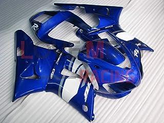LoveMoto Car/énages pour TMAX530 2012 2013 2014 12 13 14 TMAX 530 Jeux de car/énages moto en plastique ABS moul/é par injection Blanc Noir