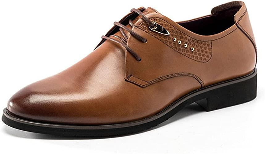 Les chaussures, les chaussures en cuir anglais chaussures pointues, dentelle,marron,Forty,