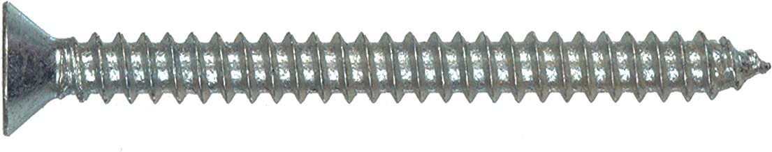 8 x 1//2-Inch The Hillman Group 491203 Oval Head Phillips Sheet Metal Screw 12-Pack