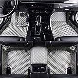Alfombrillas Coche De Cuero Personalizadas Para Nissan X-Trail T32 7 Seat 2014-2019, Alfombras Antideslizante Impermeable ProteccióN Moquetas De Cobertura Completa VehíCulos Accesorios