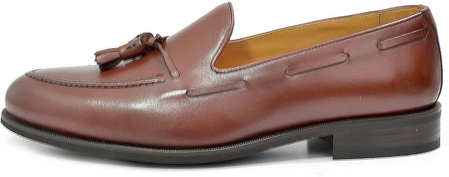 Men's EYE Tassle Leather Loafer shoes 5234
