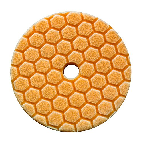 Chemical Guys bufx112hex5–hex-Logic Quantum mittelschwer Schneiden Pad, Orange (14cm)