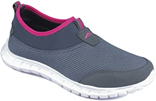 ASIAN Women's Riya-51 Running Shoes,Walking Shoes Mesh Sports Shoes (UK-8, Grey)